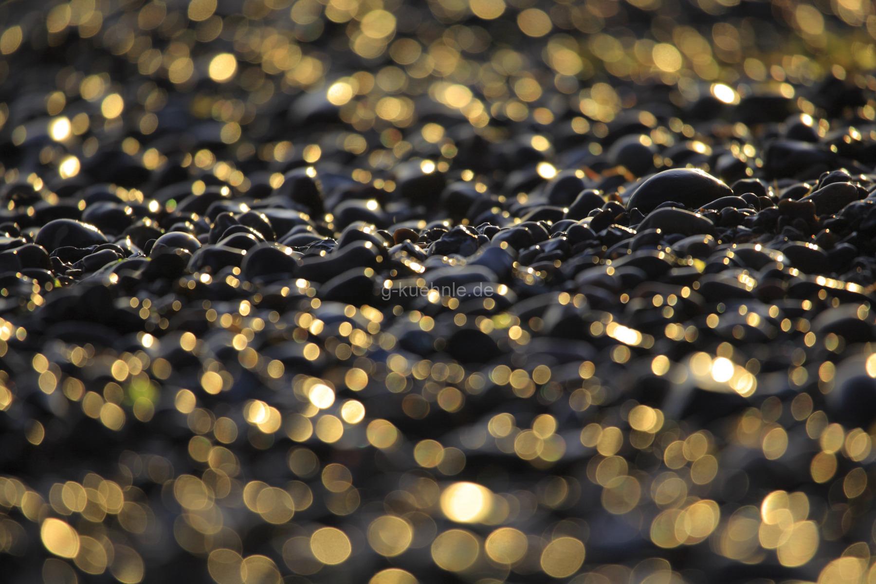 Steine am Strand - Nienhagen, Mecklenburg-Vorpommern, Deutschland, Europa